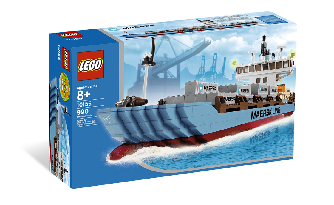 """LEGO Exclusive Контейнеровоз """"Maersk"""" (10155)"""