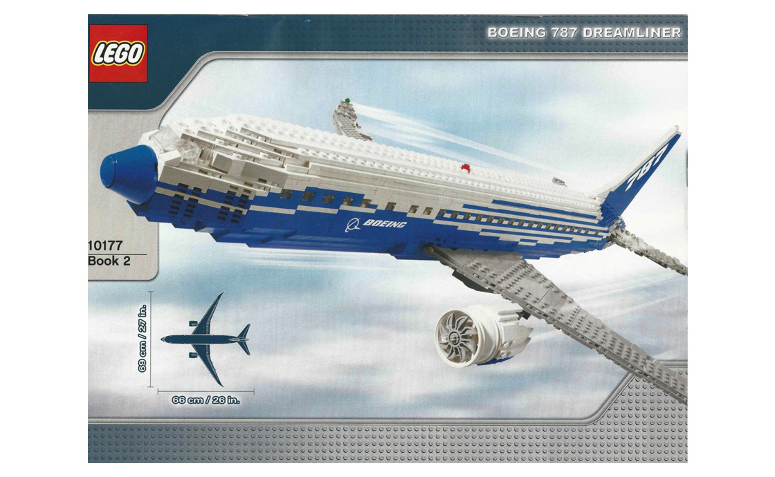 "LEGO Exclusive Боинг 787 ""Dreamliner"" (10177)"