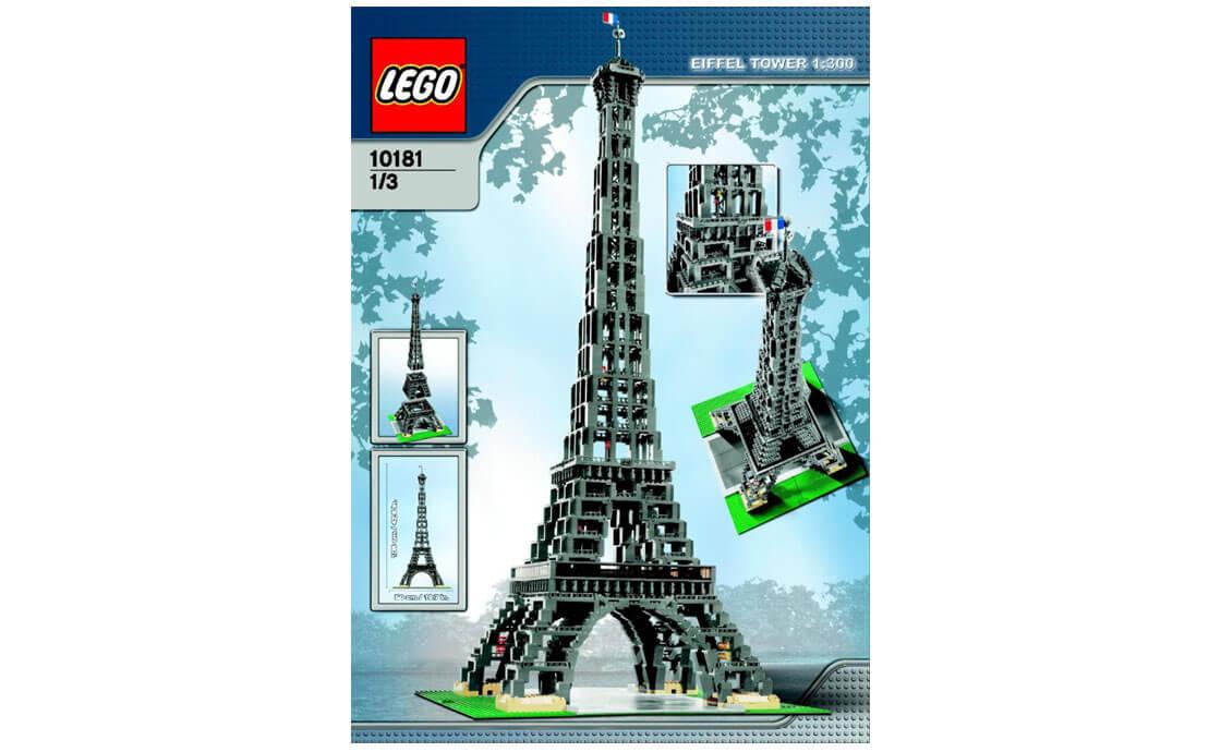 LEGO Exclusive Эйфелева башня (10181)