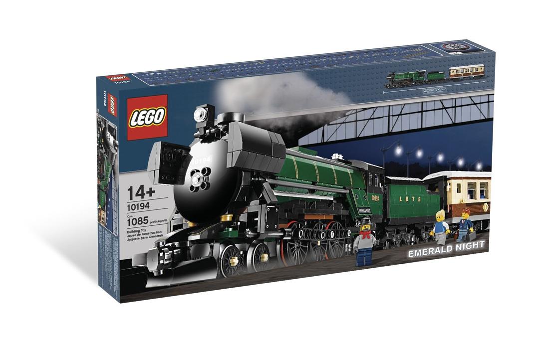 """LEGO Exclusive Поезд """"Изумрудная ночь"""" (10194)"""