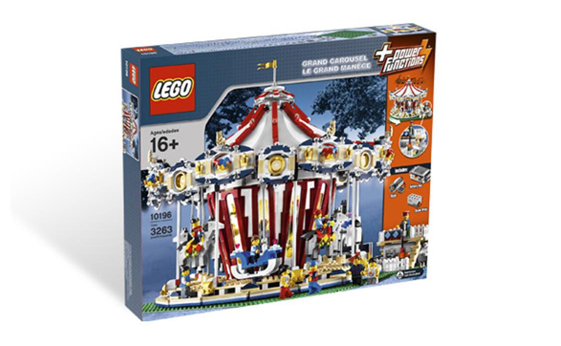 LEGO Exclusive Большая карусель (10196)