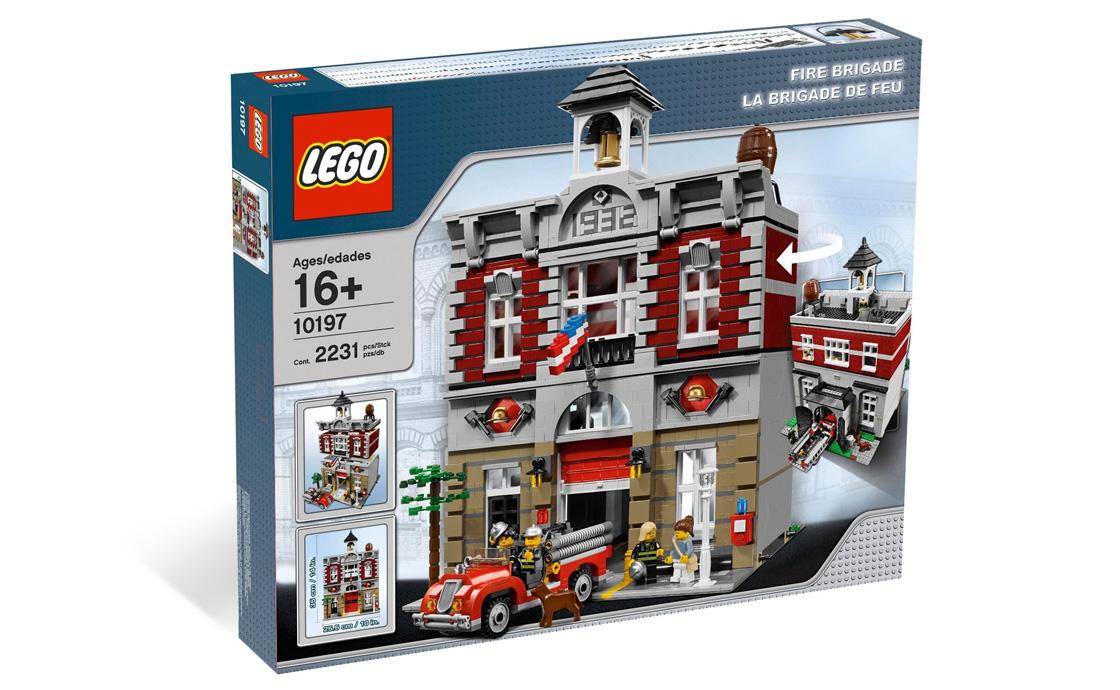 LEGO Exclusive Пожарная команда (10197)