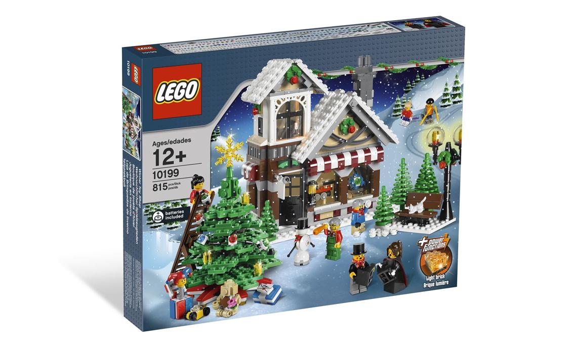 LEGO Exclusive Магазин зимних игрушек (10199)