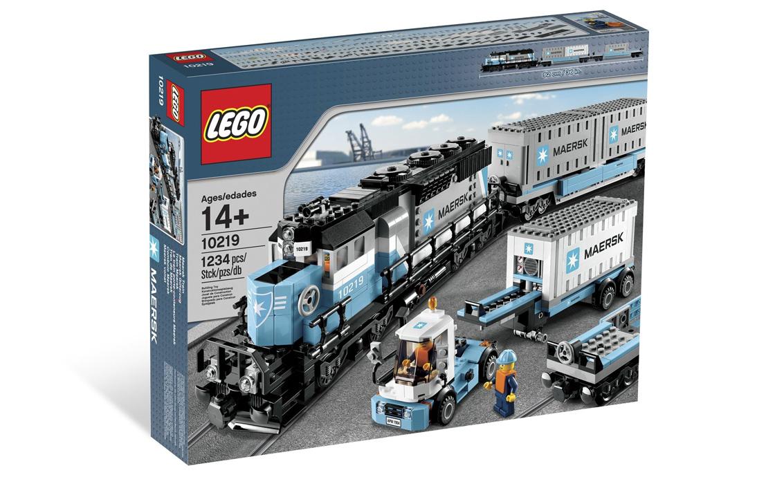 LEGO Exclusive Поезд Maersk (10219)