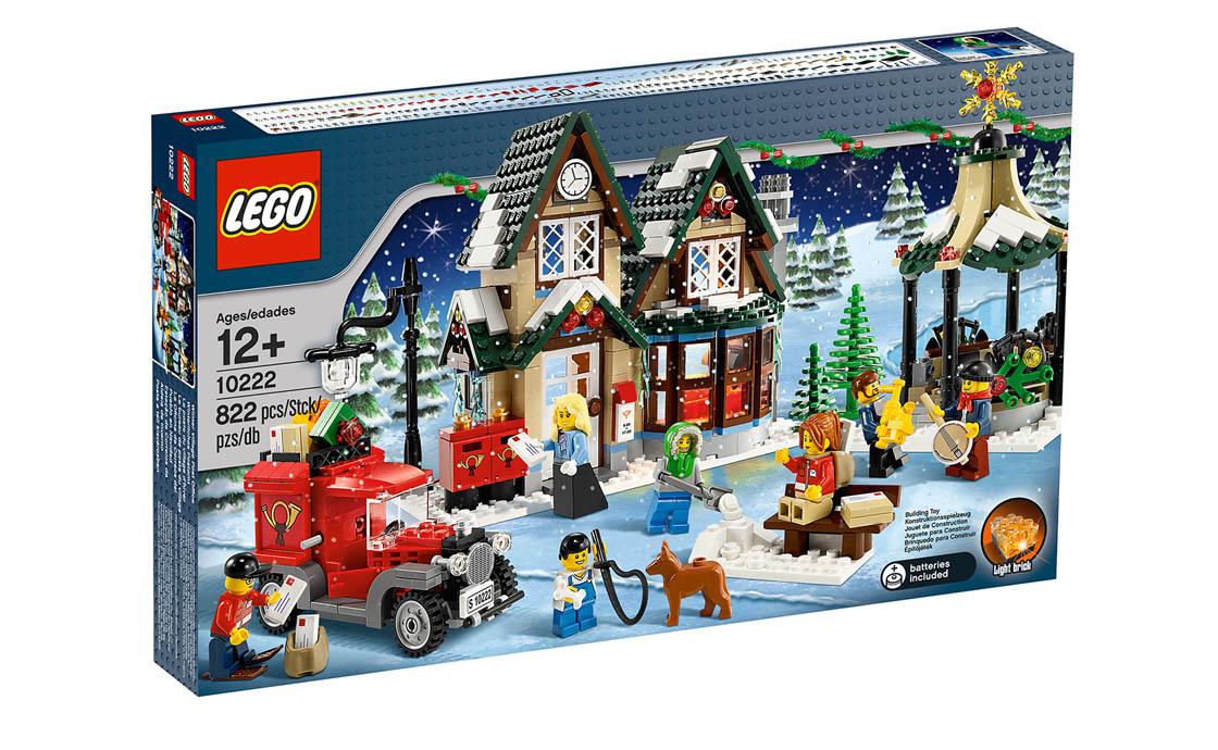 LEGO Exclusive Почта в зимней деревне (10222)