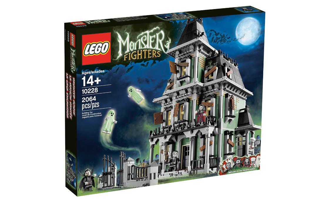 LEGO Monster Fighters Дом с Привидениями (10228)