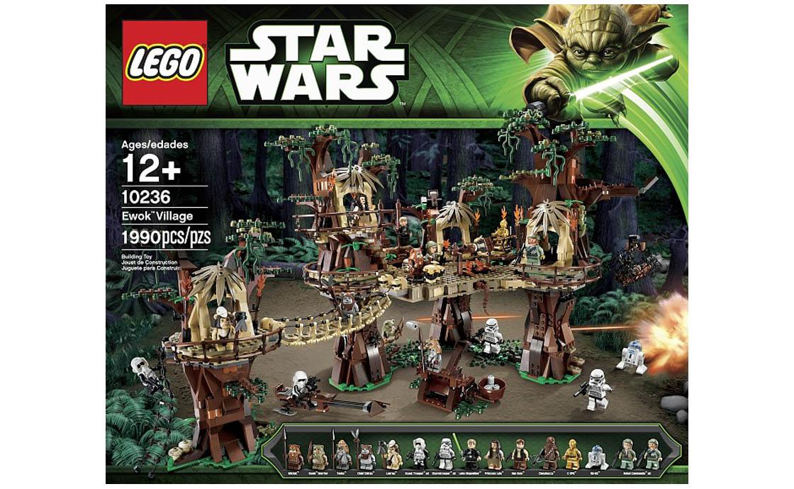 LEGO Star Wars Деревня Эвоков (10236)