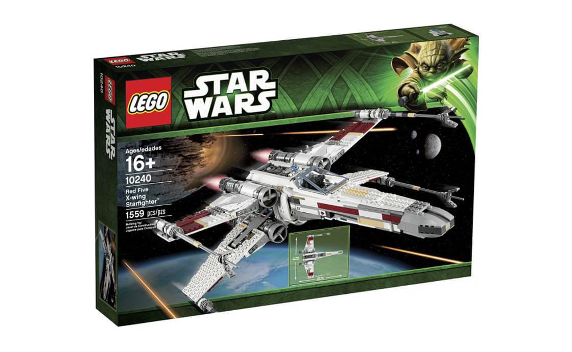 """LEGO Star Wars Истребитель типа X-Wing """"Ред Файв"""" (10240)"""