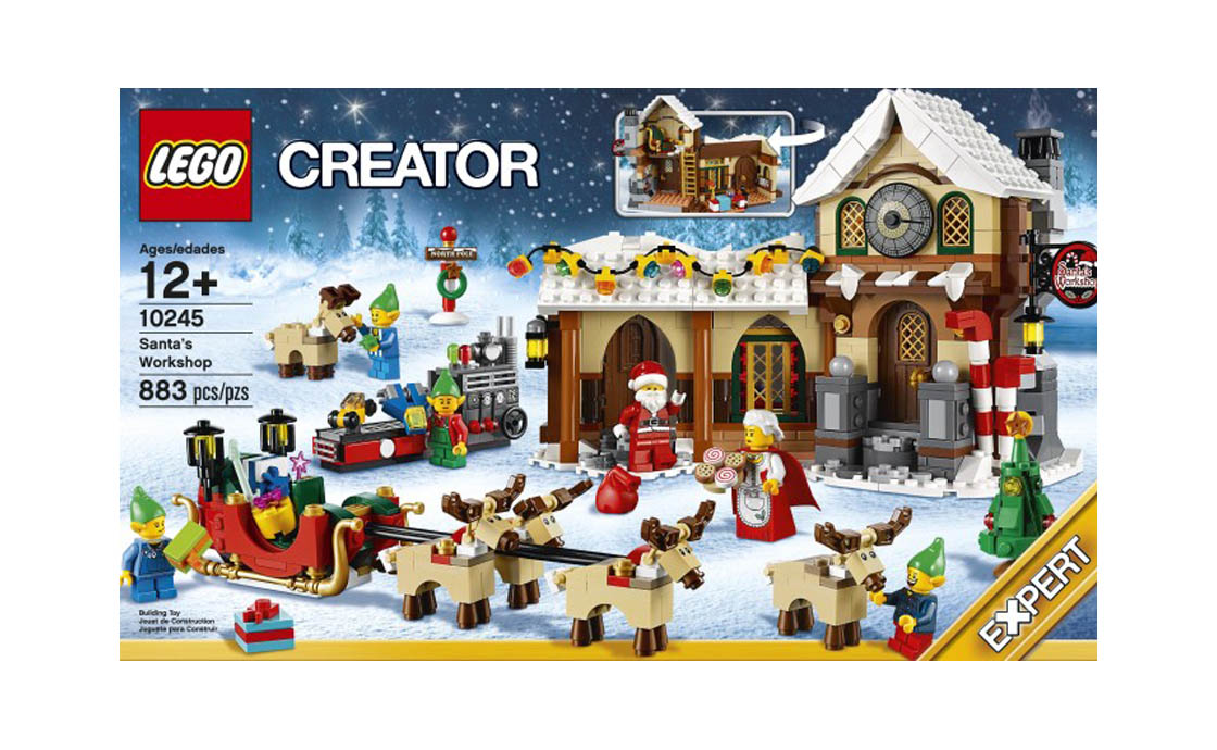 LEGO Exclusive Мастерская Санты (10245)
