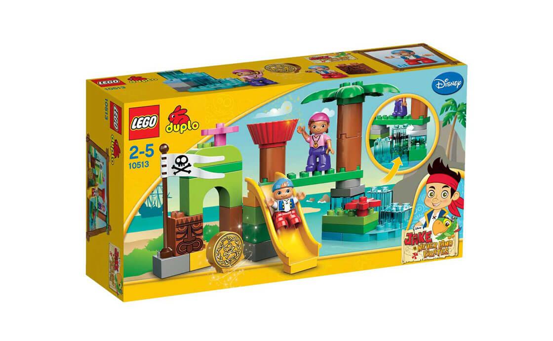 LEGO DUPLO Укрытие пиратов Нетландии (10513)