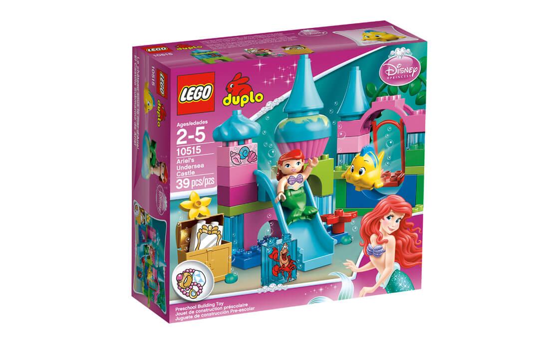 LEGO DUPLO Подводный замок Ариэль (10515)