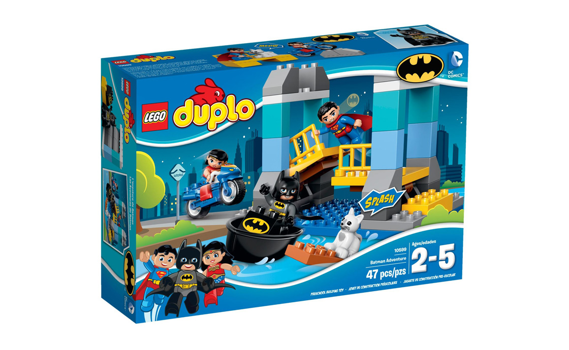 LEGO DUPLO Пригоди Бетмена (10599)