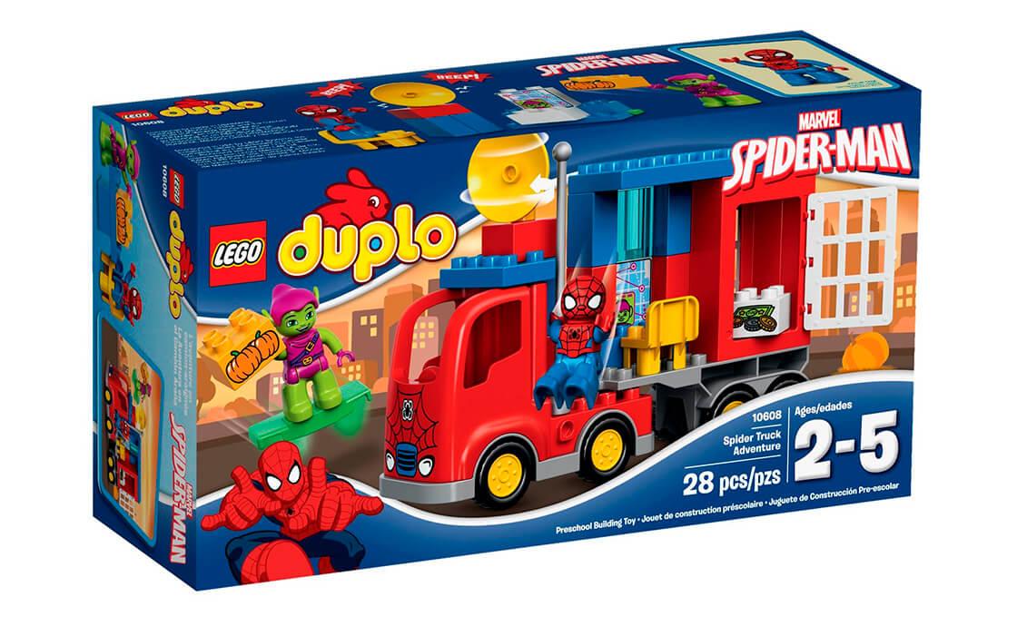 LEGO DUPLO Людина-павук: Пригоди на павуко-вантажівці (10608)