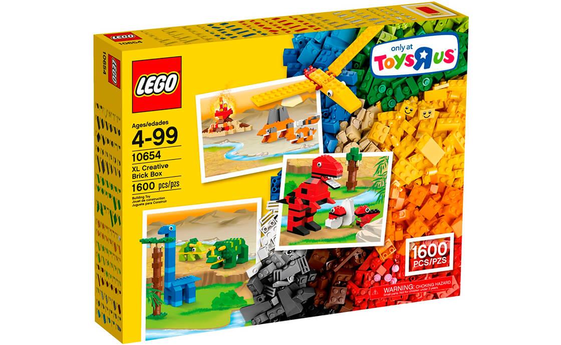 LEGO Classic Креативна коробка з кубиками XL (10654)