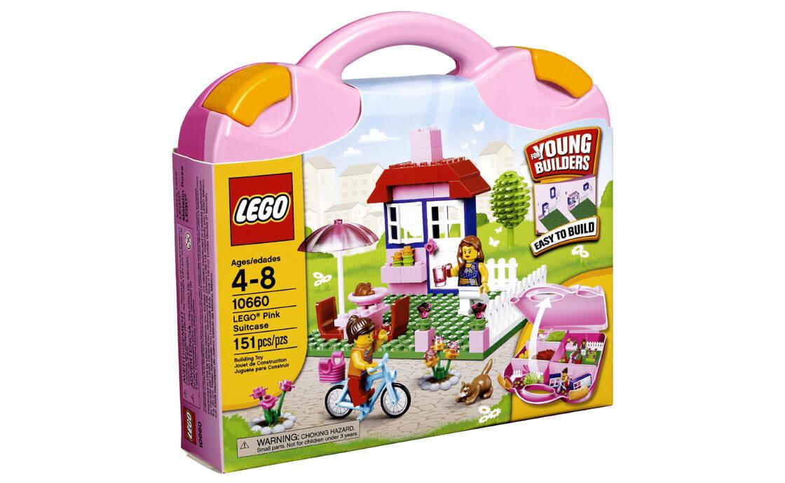 LEGO Creator Розовый чемоданчик для девочек (10660)