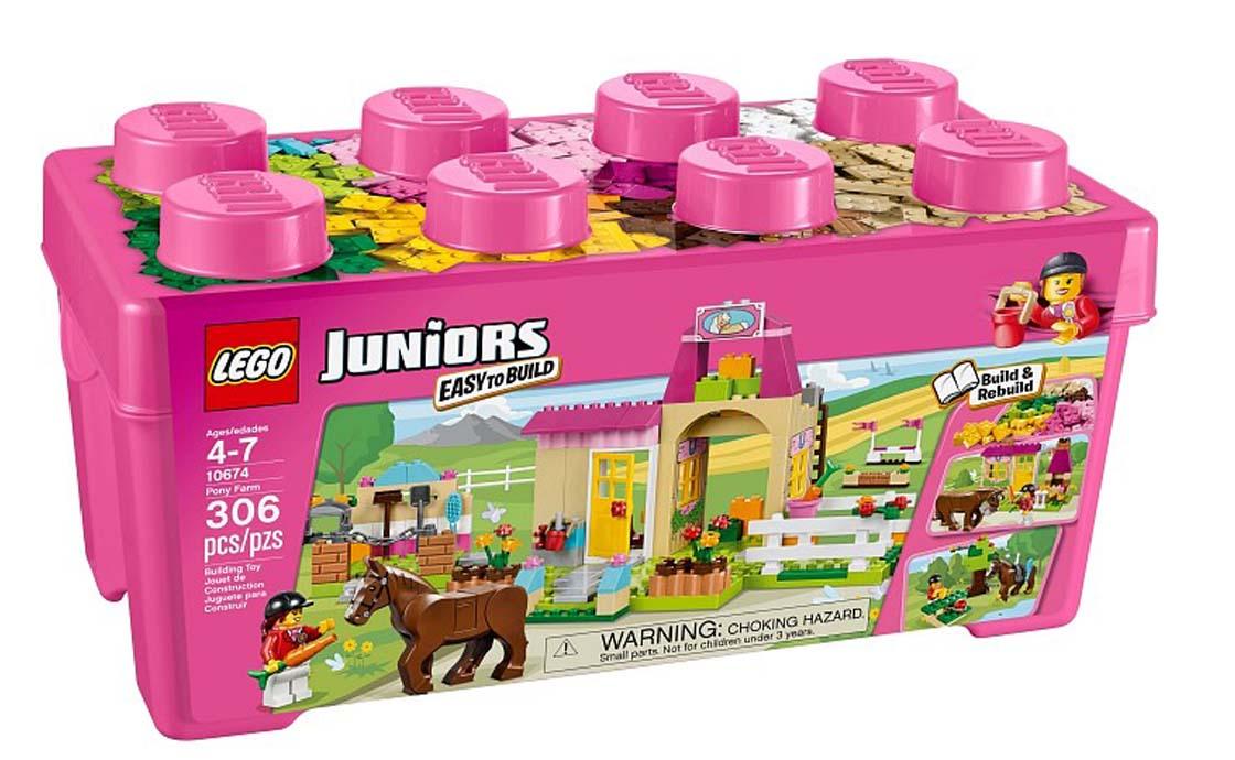 LEGO Juniors Конюшня (10674)