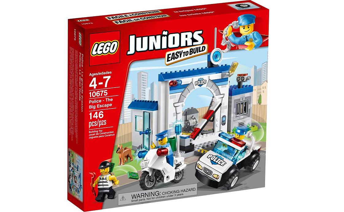LEGO Juniors Полиция: Большой побег (10675)