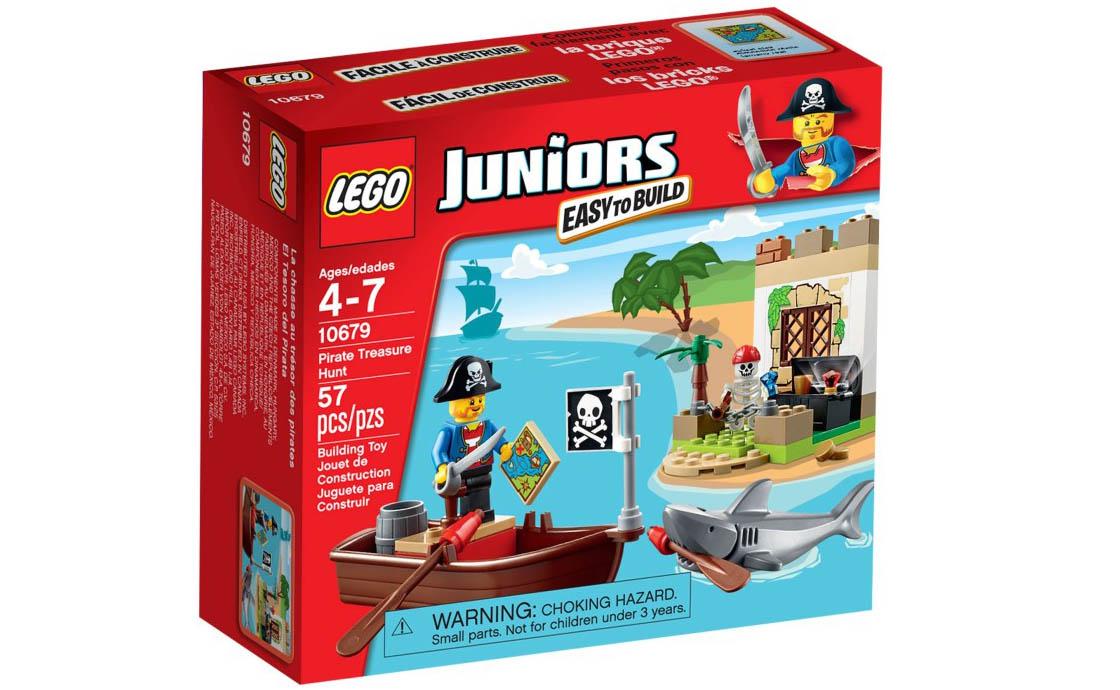 LEGO Juniors Пиратская охота за сокровищами (10679)