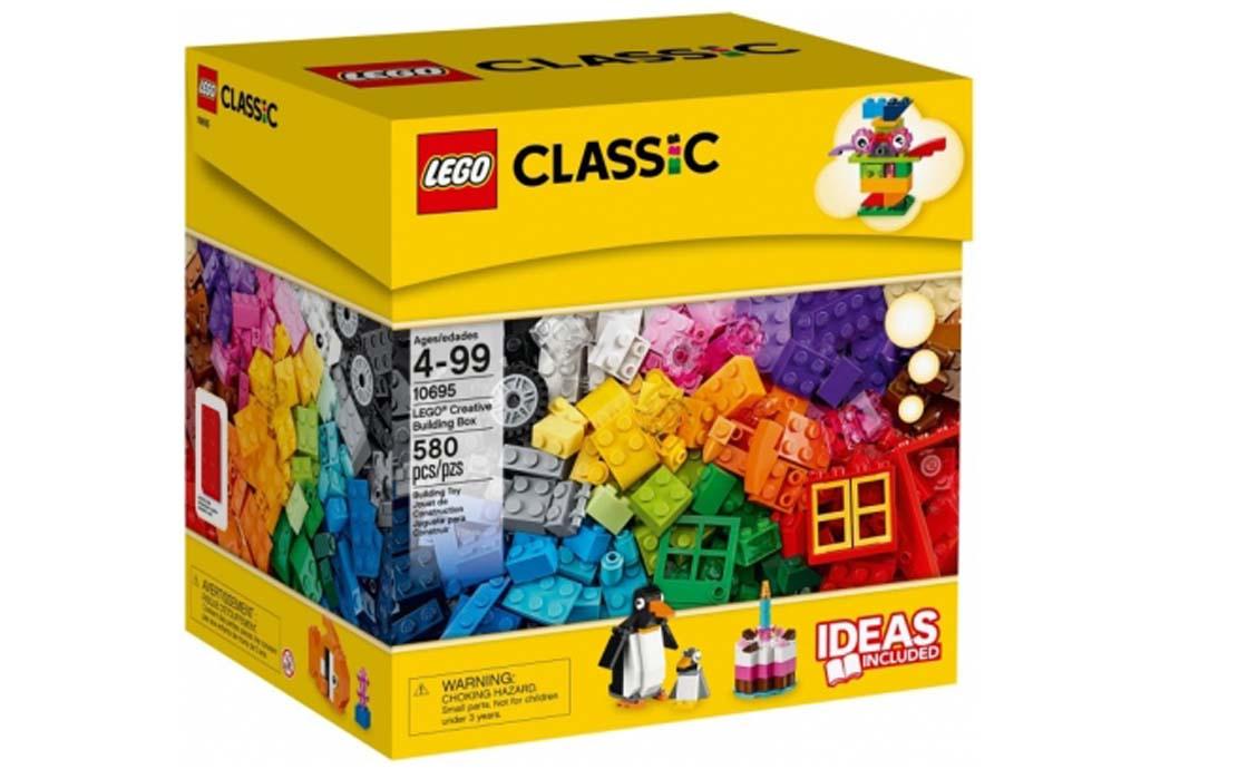 LEGO Classic Коробка творчих будівель (10695)