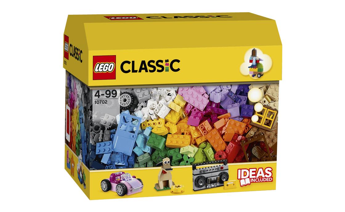 LEGO Classic Набір кубиків для вільного конструювання (10702)