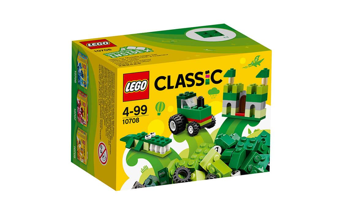 LEGO Classic Зелена творча коробка (10708)