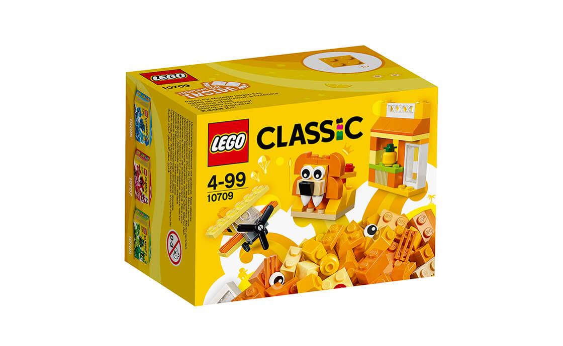 LEGO Classic Помаранчева творча коробка (10709)