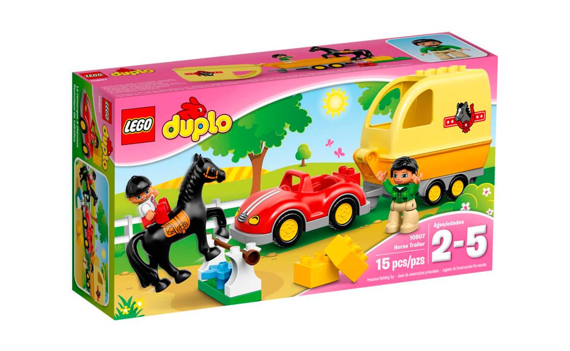 LEGO DUPLO Трейлер для коней (10807)