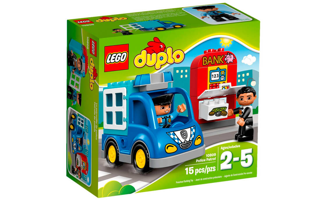 LEGO DUPLO Поліцейський патруль (10809)