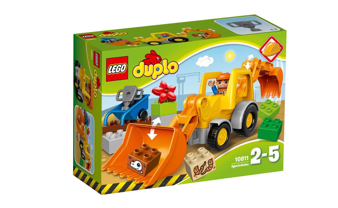 LEGO DUPLO Екскаватор – навантажувач (10811)