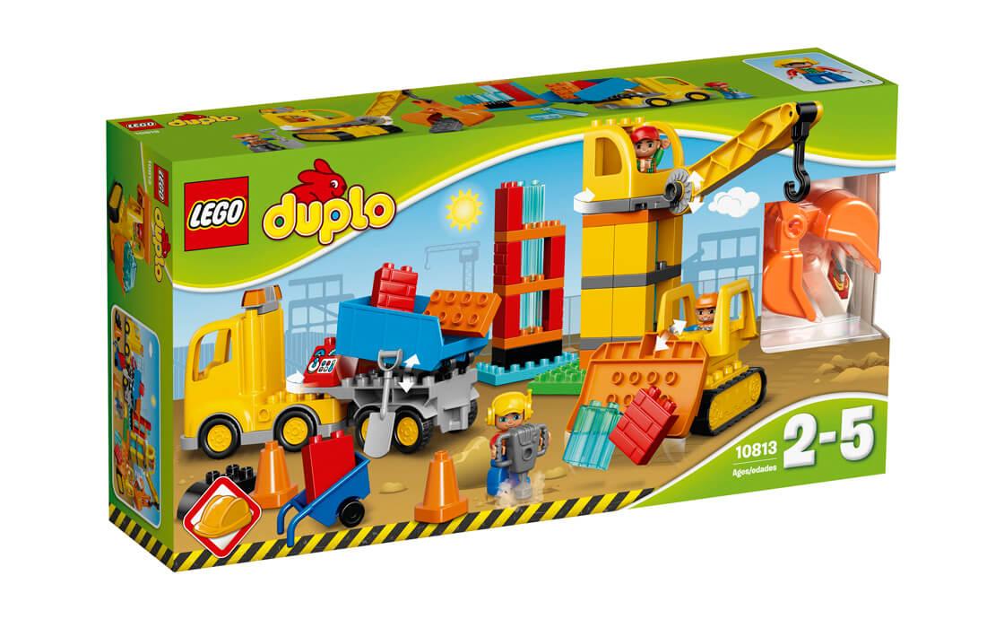 LEGO DUPLO Великий будівельний майданчик (10813)