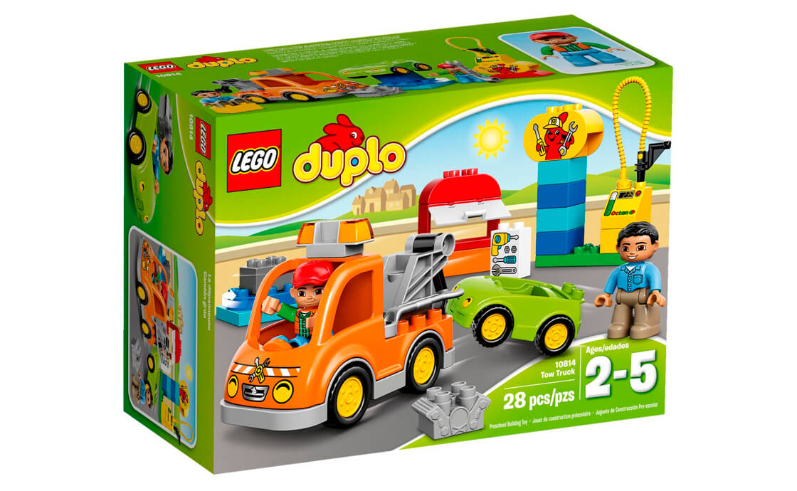 LEGO DUPLO Буксирувальник (10814)