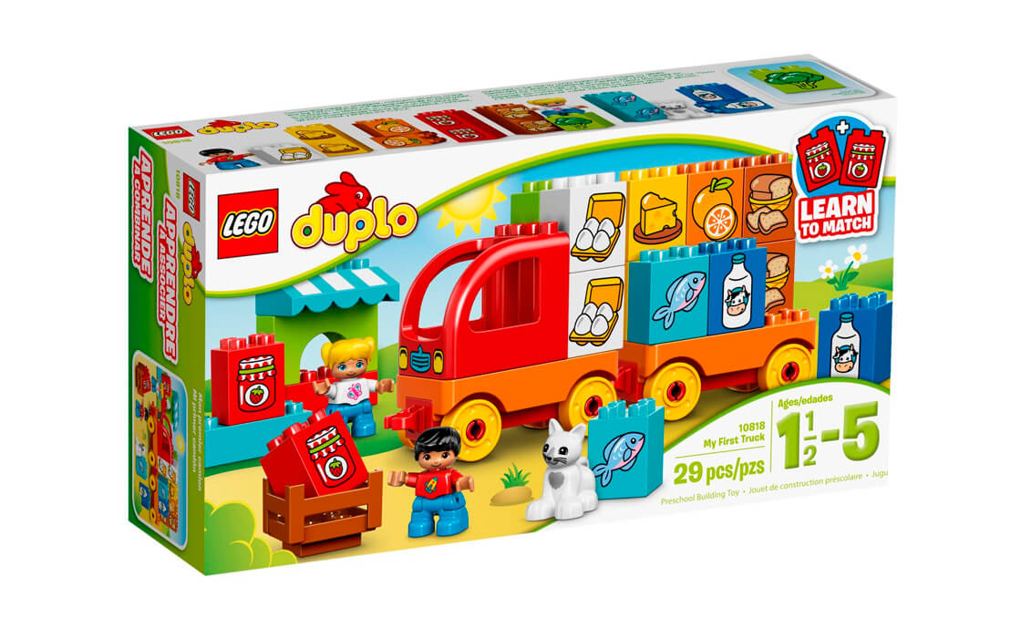 LEGO DUPLO Моя перша вантажівка (10818)