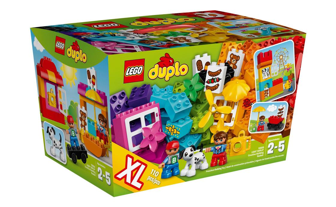 LEGO DUPLO Корзинка творчого будівництва (10820)
