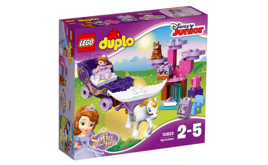 LEGO DUPLO Перша магічна карета Софії (10822)
