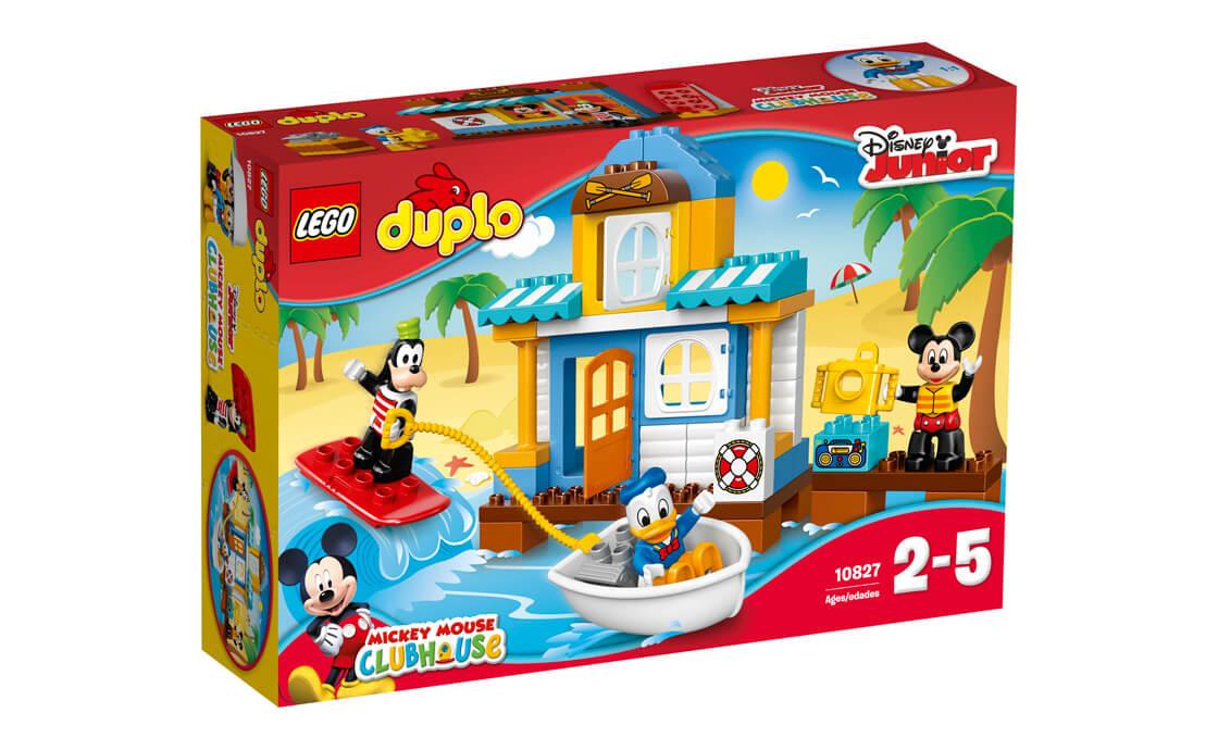 LEGO DUPLO Міккі та друзі: пляжний будиночок (10827)