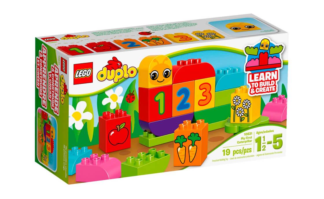 LEGO DUPLO Моя перша гусінь (10831)