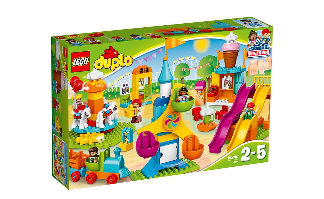 LEGO DUPLO Великий парк атракціонів (10840)