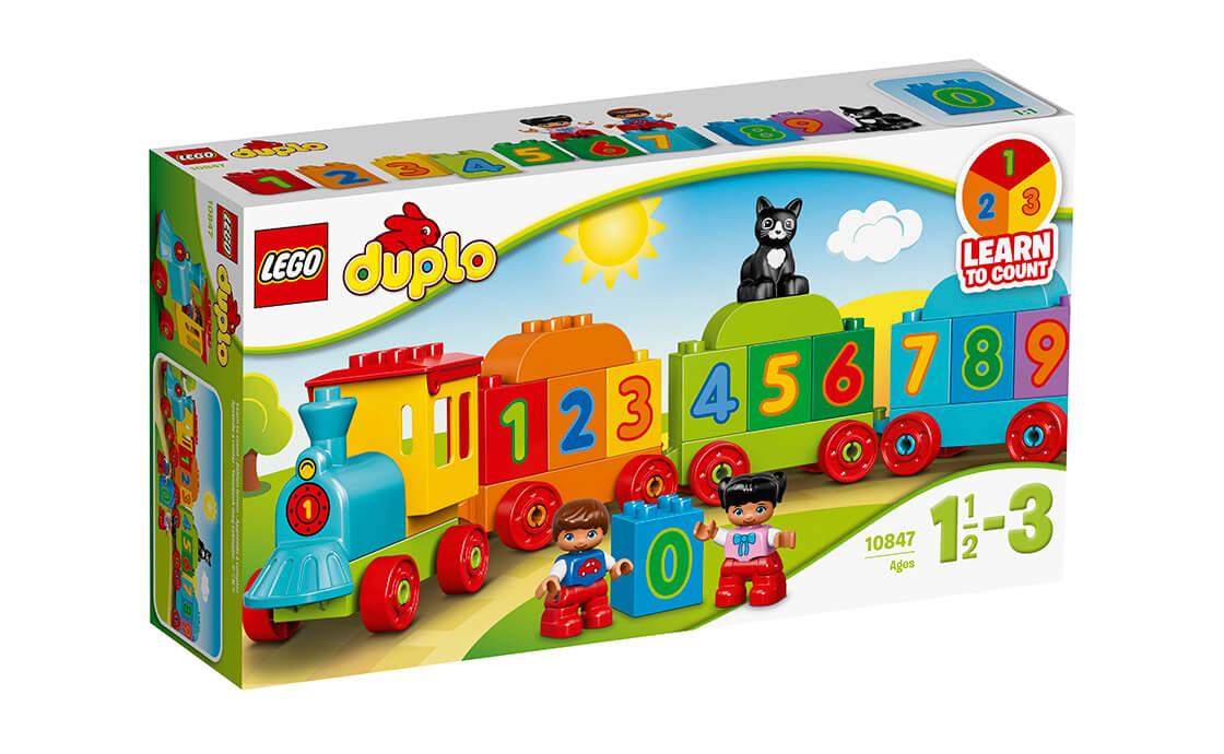LEGO DUPLO Потяг з цифрами (10847)