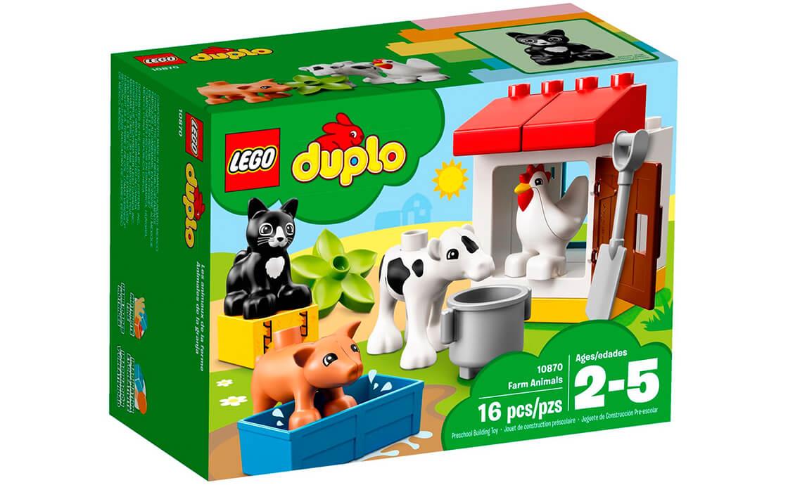 LEGO DUPLO Тварини на фермі (10870)