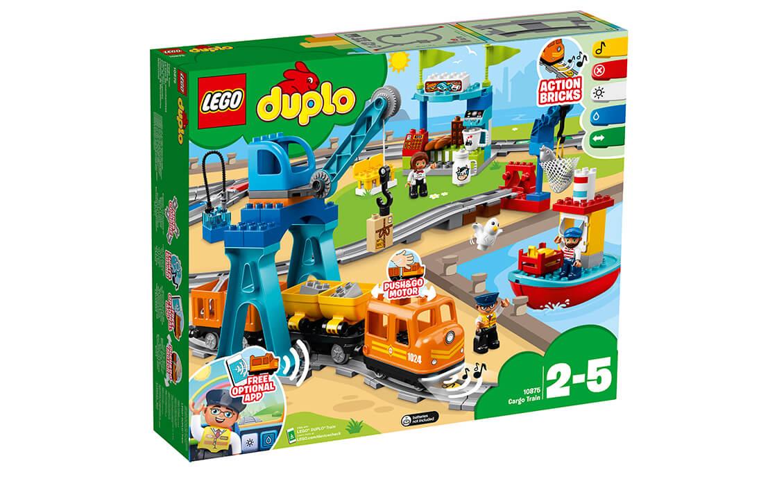 LEGO DUPLO Грузовой поезд (10875)