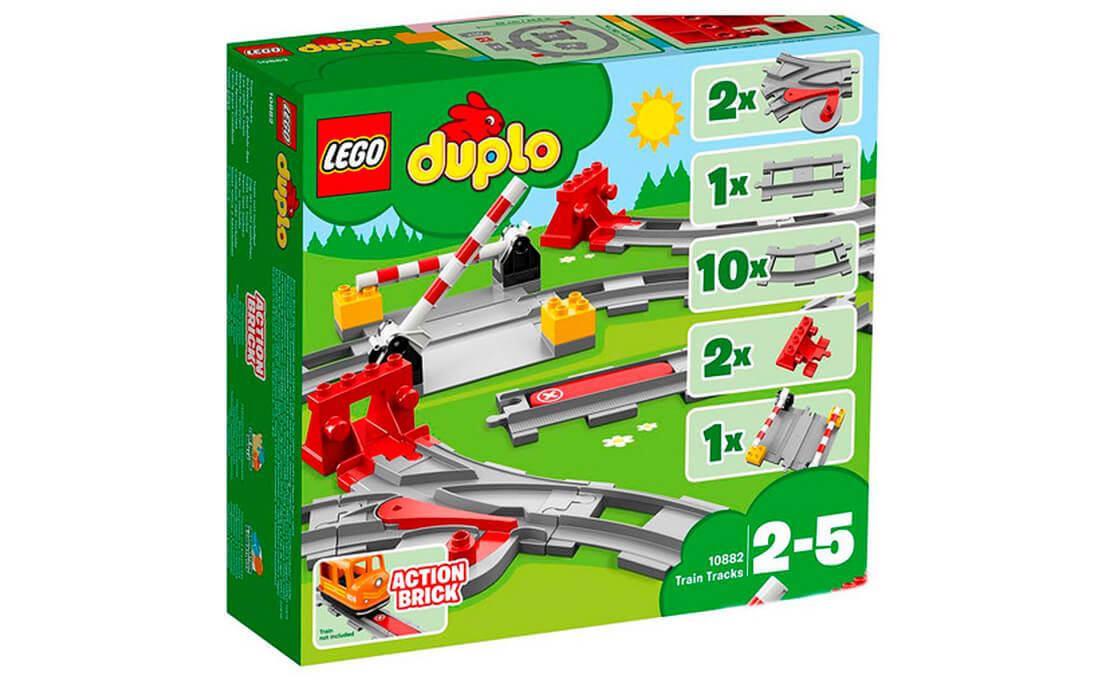 LEGO DUPLO Залізничні колії (10882)