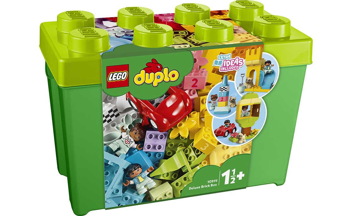 LEGO DUPLO Велика коробка з кубиками (10914)