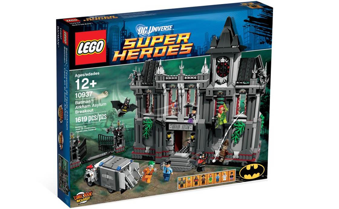LEGO Super Heroes Побег из психиатрической клиники Аркхэм (10937)