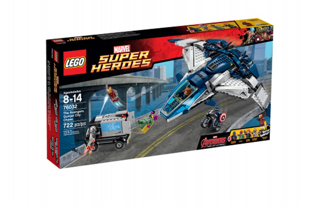 LEGO Super Heroes Погоня на квінджете Месників (76032)