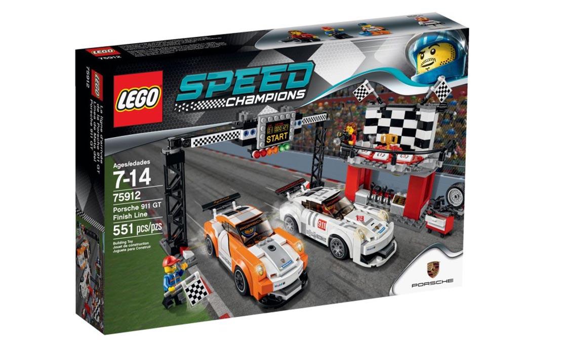 LEGO Speed Champions Финишная линия Порше 911 GT (75912)