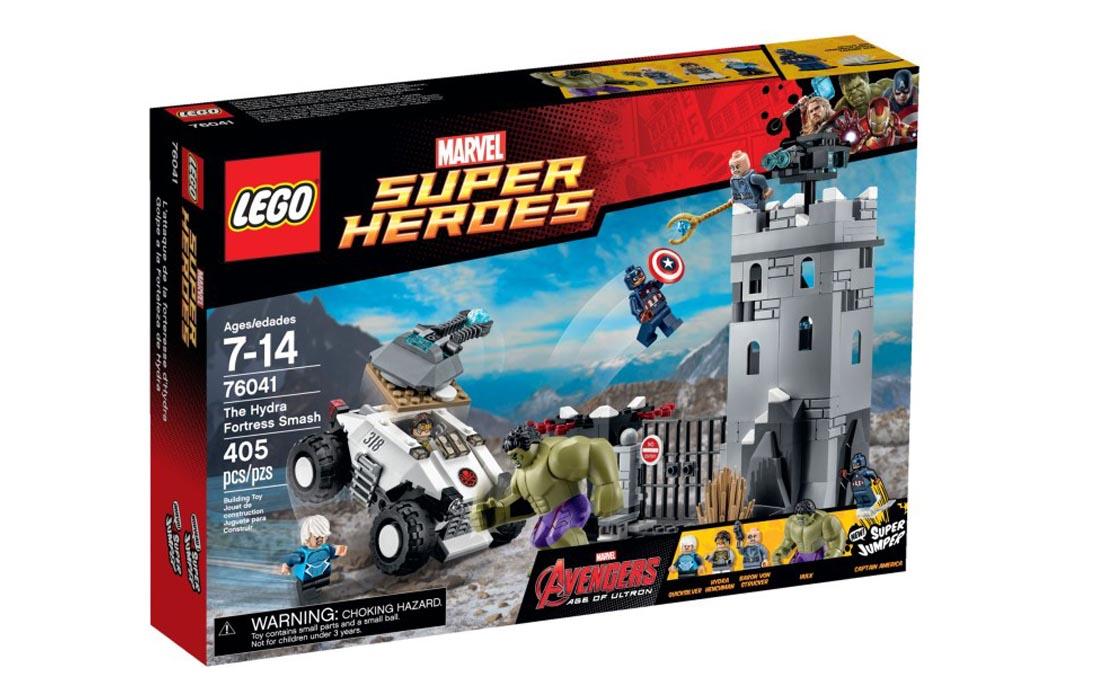 "LEGO Super Heroes Разгром крепости ""Гидры"" (76041)"