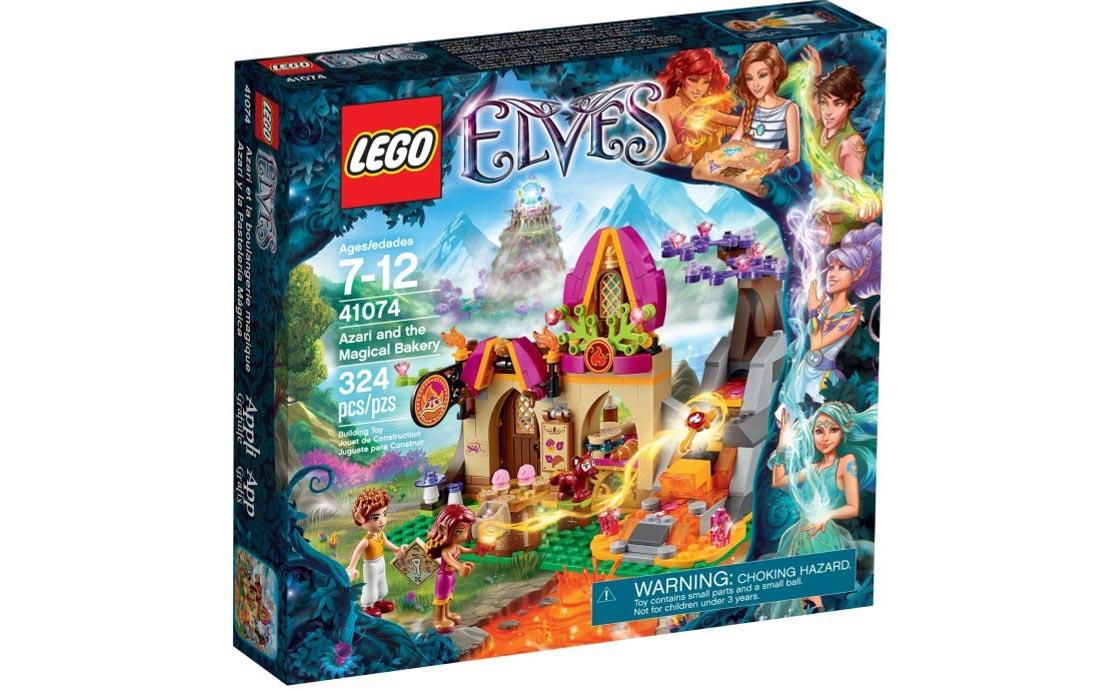LEGO Elves Азари и волшебная булочная (41074)