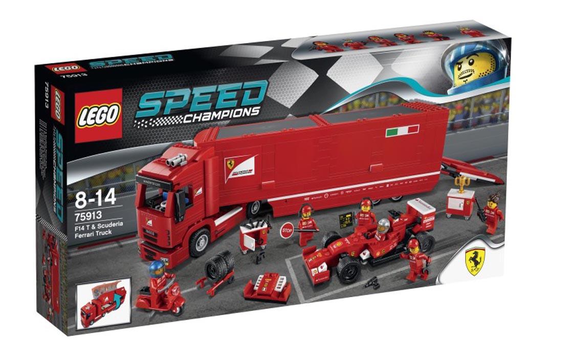 LEGO Speed Champions F14 и грузовик Феррари Scuderia (75913)