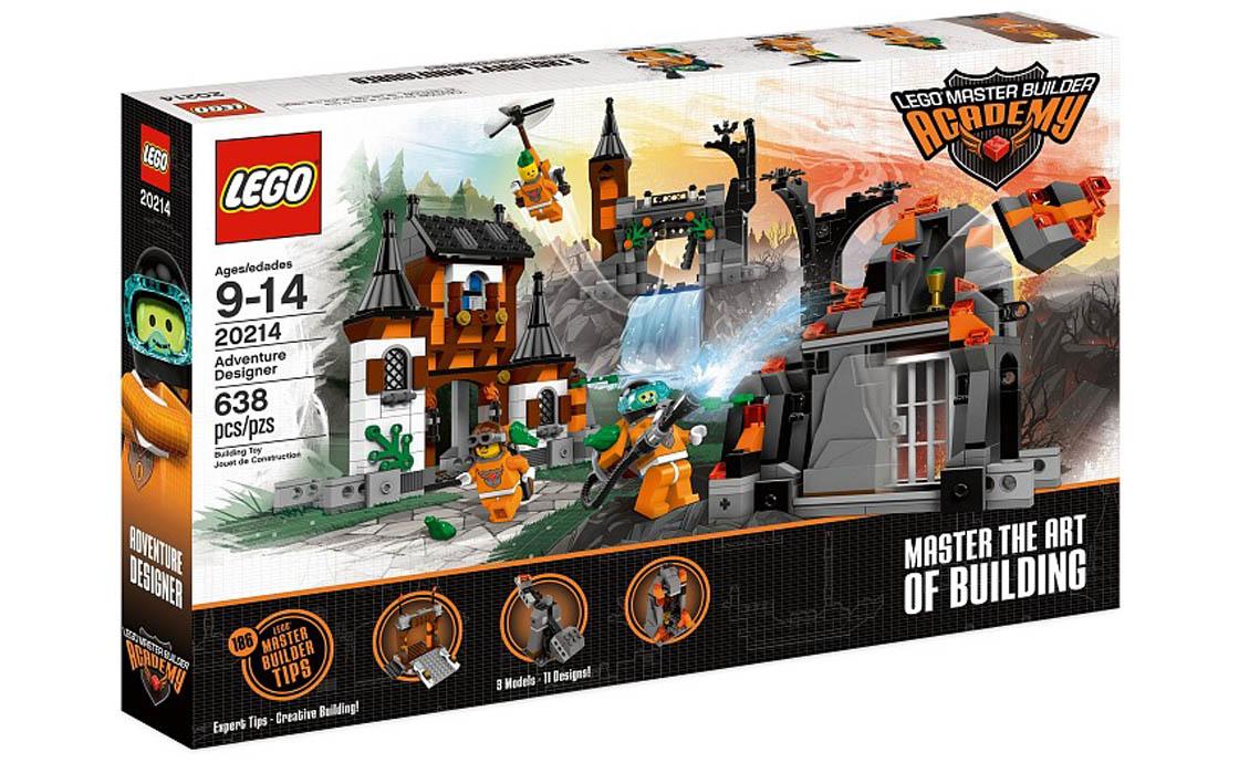 LEGO Exclusive Дизайнерские приключения (20214)