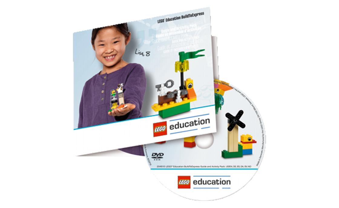 LEGO Education Программное обеспечение и учебное пособие - DVD (2045110)